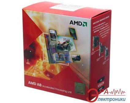 Процессор AMD A8 X4 3850 (AD3850WNGXBOX) socket FM1 Box
