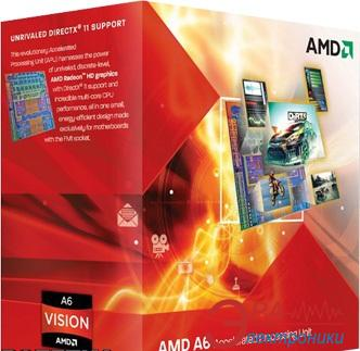 Процессор AMD A4 X2 3400 (AD3400OJGXBOX) socket FM1 Box