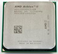 Процессор AMD Athlon II 64 X3 420e (ADX420EHDK32GM) AM3 Tray