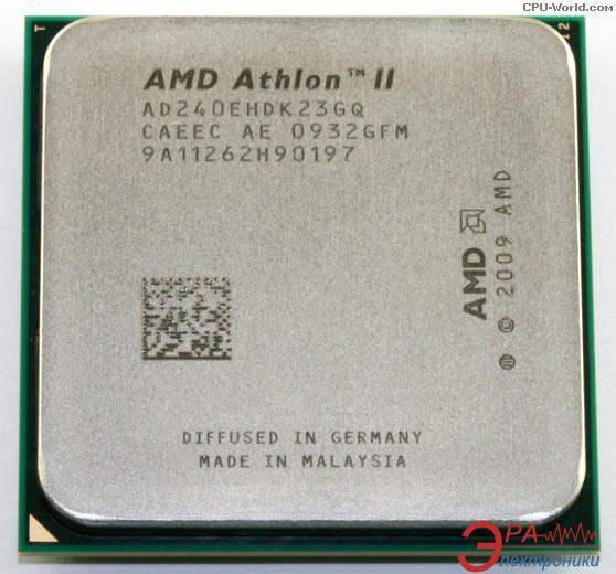 Процессор AMD Athlon II 64 X2 240e (AD240EHDK23GM) AM3 Tray