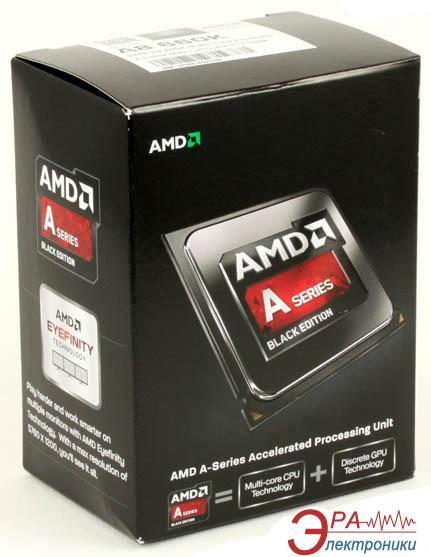 Процессор AMD A8 X4 6600K (AD660KWOHLBOX) socket FM2 Box