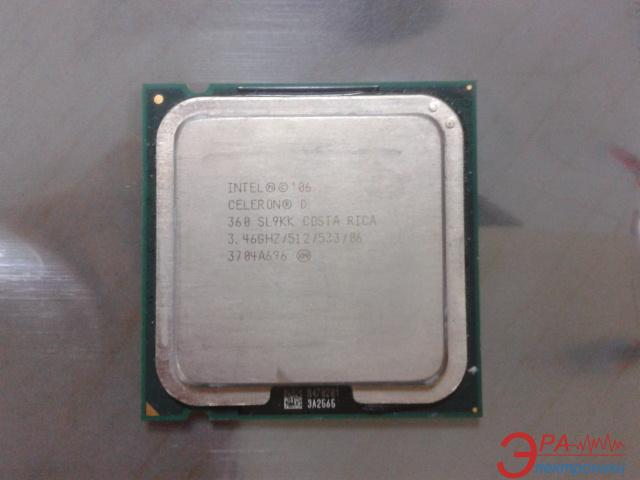 Процессор Intel Celeron D 360 Socket-775 Tray