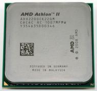 Процессор AMD Athlon II 64 X2 220 AM3 Tray