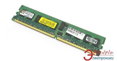 Память для серверов DDR2 ECC 2 Gb 667 MHz Kingston (KVR667D2D8F5/2G)