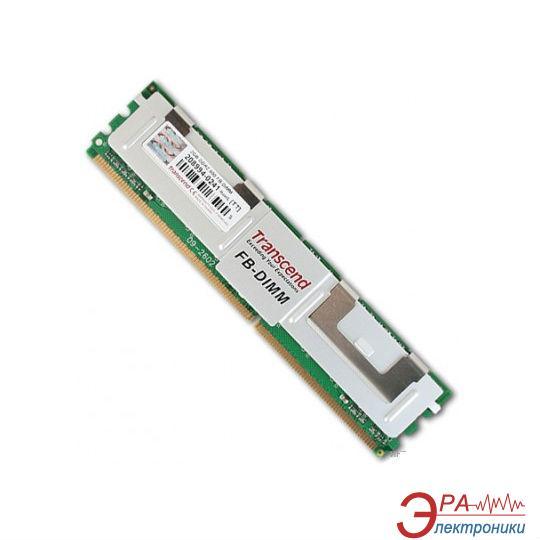 DDR2 ECC FB-DIMM 240-контактный 2 Gb 800 MHz Transcend (TS256MFB72V8U-T)