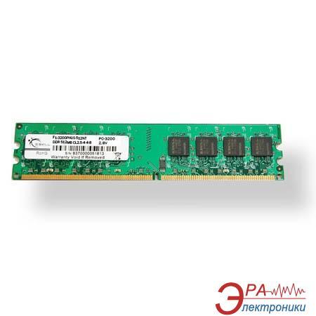 Оперативная память DIMM DDR 1024 Мб 400 MHz PC3200 G.Skill (F1-3200PHU1-1GBNT)
