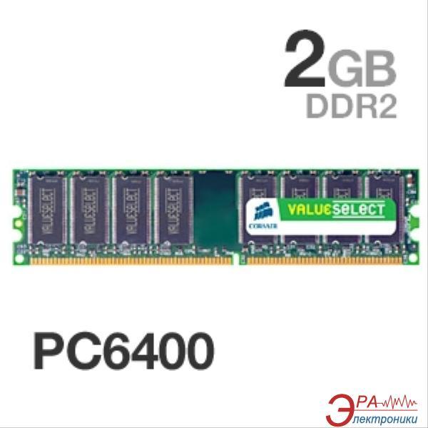 Оперативная память DDR2 2 Гб 800 MHz PC6400 Corsair (VS2GB800D2)