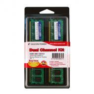 DDR2 2x2 �� 800 MHz PC6400 SiliconPower (SP004GBLRU800S22)