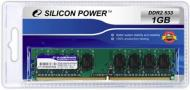 DDR2 1 Гб 533 MHz PC4200 SiliconPower (SP001GBLRU533S02)