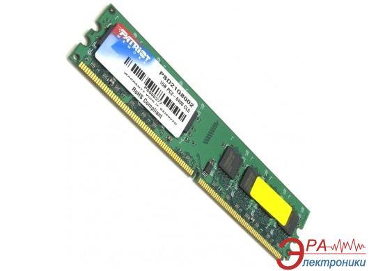 Оперативная память DDR2 1 Гб 800 MHz PC6400 Patriot orig (PSD21G8002 / PSD21G80081)