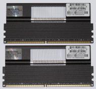 Оперативная память DDR2 2x2 Гб 1066 MHz PC8500 Geil (GE24GB1066C5DC)