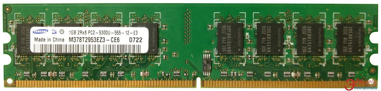 Оперативная память DDR2 2 Гб 800 MHz PC6400 Samsung (M378T2953EZ3-CE6)