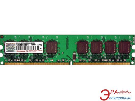 Оперативная память DDR2 1 Гб 667 MHz PC5300 Transcend (505493)