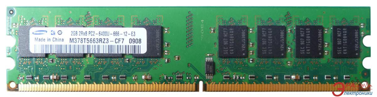 Оперативная память DDR2 2 Гб 800 MHz PC6400 Samsung (M378T5663EH3-CF7)