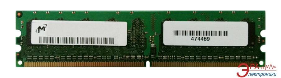 Оперативная память DDR2 1 Гб 800 MHz PC6400 Micron (MT8HTF12864AY-80EE1)
