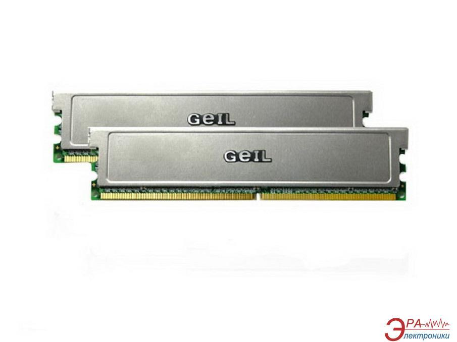 Оперативная память DDR2 2x1 Гб 800 MHz PC6400 Geil (GX22GB6400DC)