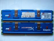 DDR2 2x1 �� 800 MHz PC6400 Kingston HyperX (KHX6400D2K2/2G)