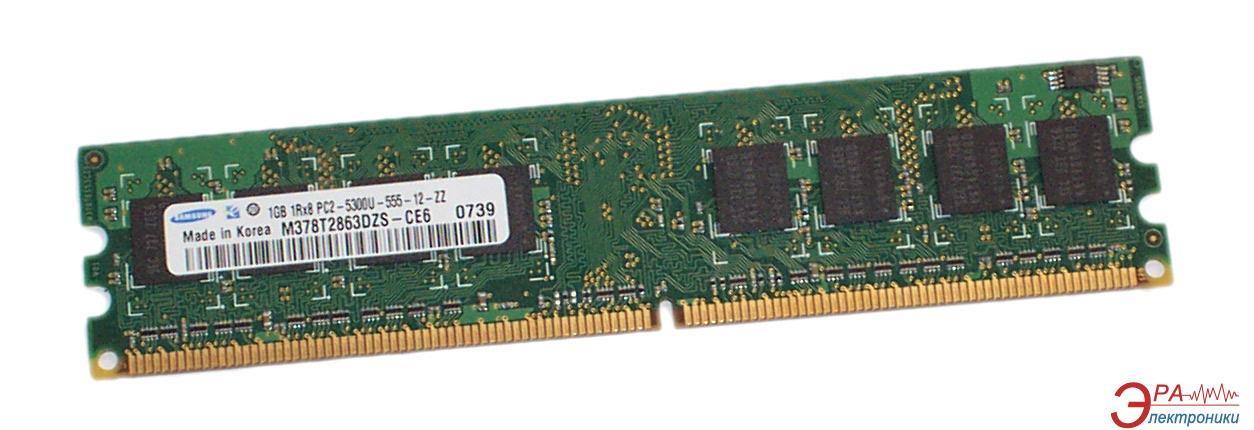 Оперативная память DDR2 1 Гб 667 MHz PC5300 Samsung (M378T2863DZS-CE6)