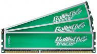 DDR3 3x2 Гб 1600 МГц Crucial Ballistix Tracer Green (BL3KIT25664TG1608)