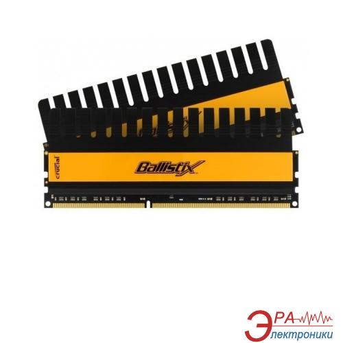 Оперативная память DDR3 2x4 Гб 2000 МГц Crucial Ballistix (BL2KIT51264FN2001)