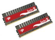DDR3 2x2 �� 1600 ��� Patriot Sector 5 (PGV34G1600ELK)