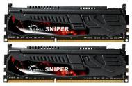 DDR3 2x4 Гб 1333 МГц G.Skill (F3-10666CL9D-8GBSR) 1.5V Sniper series