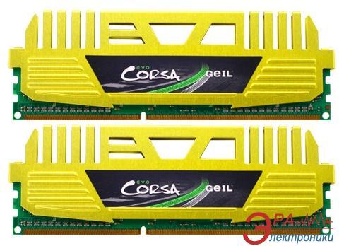 Оперативная память DDR3 2x4 Гб 1866 МГц Geil Evo Corsa (GOC38GB1866C9DC)