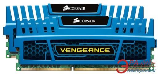Оперативная память DDR3 2x2 Гб 1600 МГц Corsair Vengeance (CMZ4GX3M2A1600C9B) Blue