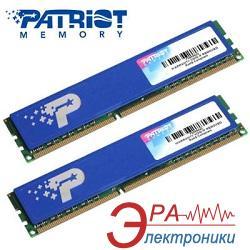 Оперативная память DDR3 2x2 Гб 1600 МГц Patriot HeatShield Box