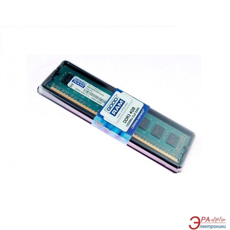 Оперативная память DDR3 4 Гб 1600 МГц Goodram (GR1600D364L11/4G)