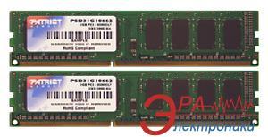 Оперативная память DDR3 2x2 Гб 1333 МГц Patriot (PSD34G1333K)