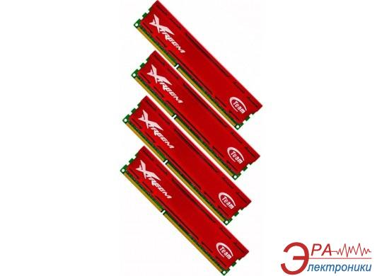 Оперативная память DDR3 4x4 Гб 1866 МГц Team Xtreem Vulcan (TXD316G1866HC11QC-V)