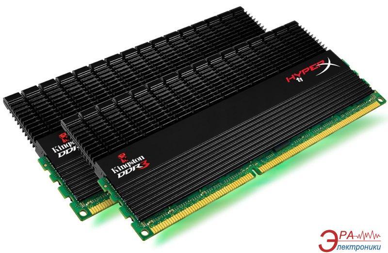 Оперативная память DDR3 2x4 Гб 1866 МГц Kingston HyperX T1 Black (KHX1866C9D3T1BK2/8GX)
