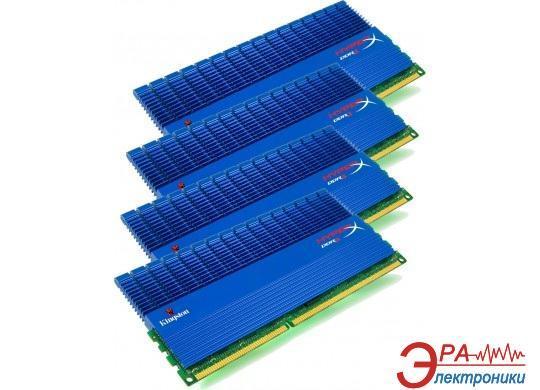 Оперативная память DDR3 4x4 Гб 1866 МГц Kingston HyperX XMP T1 Blue (KHX18C9T1K4/16X)