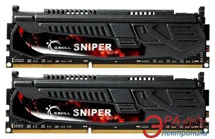 Оперативная память DDR3 2x4 Гб 1600 МГц G.Skill Sniper series (F3-12800CL9D-8GBSR1)