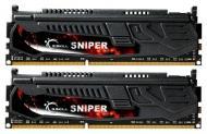 DDR3 2x4 Гб 1600 МГц G.Skill Sniper series (F3-12800CL9D-8GBSR1)