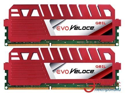 Оперативная память DDR3 2x4 Гб 1866 МГц Geil Evo Veloce (GEV38GB1866C9DC)