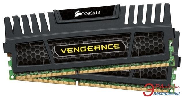 Оперативная память DDR3 2x4 Гб 2400 МГц Corsair Vengeance™ Black CMZ8GX3M2A2400C10