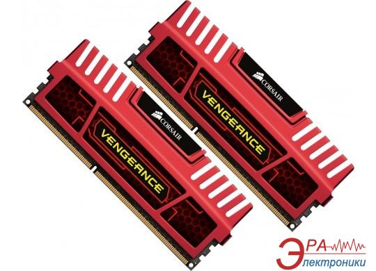 Оперативная память DDR3 2x4 Гб 1866 МГц Corsair Vengeance™ Red (CMZ8GX3M2A1866C9R)