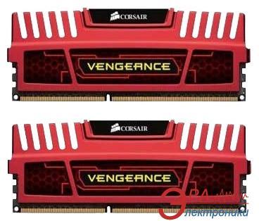 Оперативная память DDR3 2x4 Гб 2133 МГц Corsair Vengeance™ Red (CMZ8GX3M2A2133C11R)