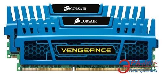 Оперативная память DDR3 2x4 Гб 2133 МГц Corsair Vengeance™ Blue (CMZ8GX3M2A2133C11B)
