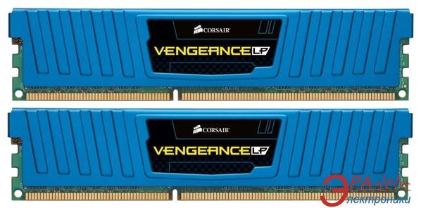 Оперативная память DDR3 2x4 Гб 1866 МГц Corsair Vengeance™ Low Blue (CML8GX3M2A1866C9B)