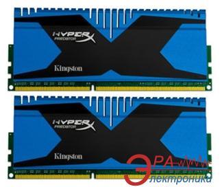 Оперативная память DDR3 2x4 Гб 1866 МГц Kingston HyperX Predator (KHX18C9T2K2/8X)
