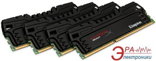 Оперативная память DDR3 4x4 Гб 1866 МГц Kingston XMP HyperX Beast (KHX18C9T3K4/16X)