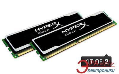 Оперативная память DDR3 2x8 Гб 1600 МГц Kingston Hyper X (KHX16C10B1BK2/16X)