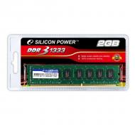 DDR3 2 �� 1333 ��� Silicon Power Retail (SP002GBLTU133S02)