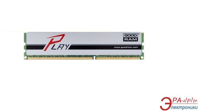 Оперативная память DDR3 8 Гб 1600 МГц Goodram PLAY Silver (GYS1600D364L10/8G)
