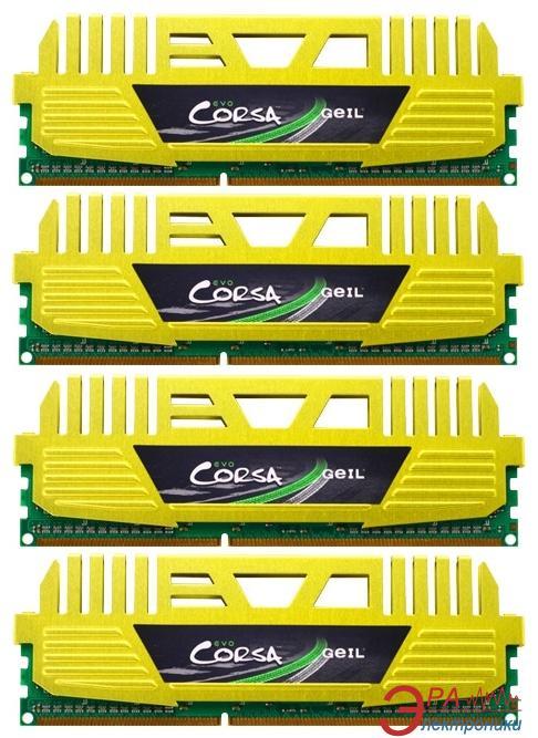Оперативная память DDR3 4x8 Гб 1600 МГц Geil (GOC332GB1600C10QC)