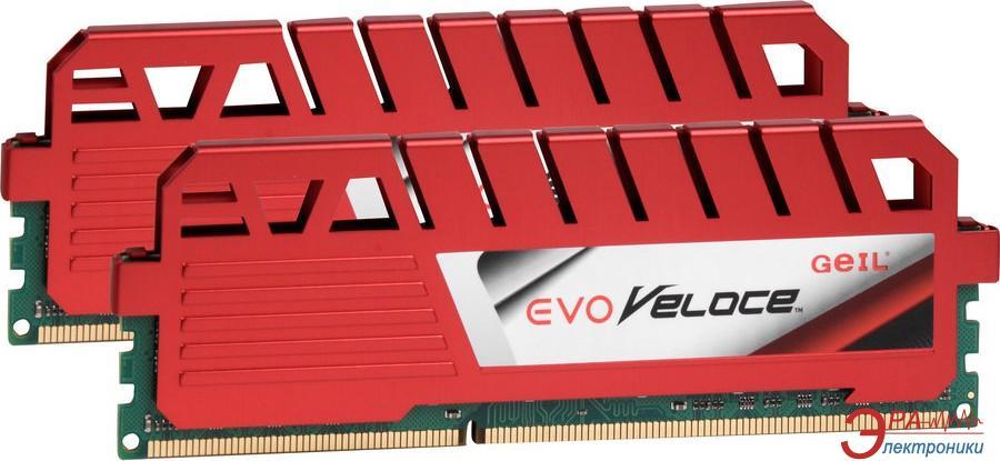 Оперативная память DDR3 2x4 Гб 1866 МГц Geil (GEV38GB1866C10DC)