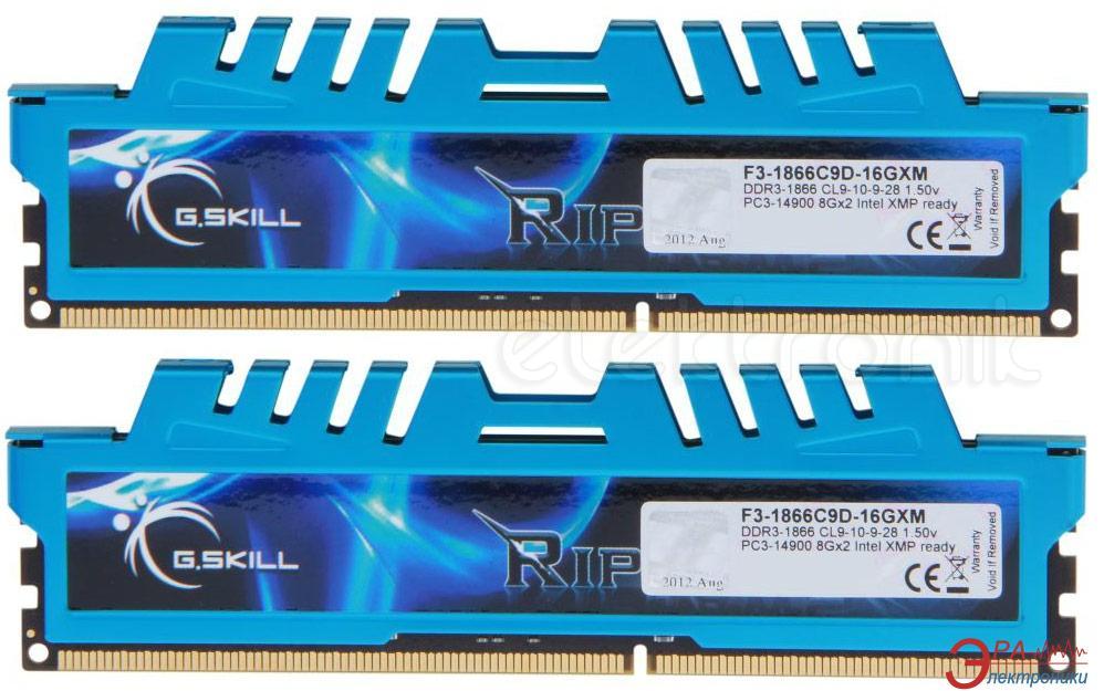 Оперативная память DDR3 2x8 Гб 1866 МГц G.Skill (F3-1866C9D-16GXM)